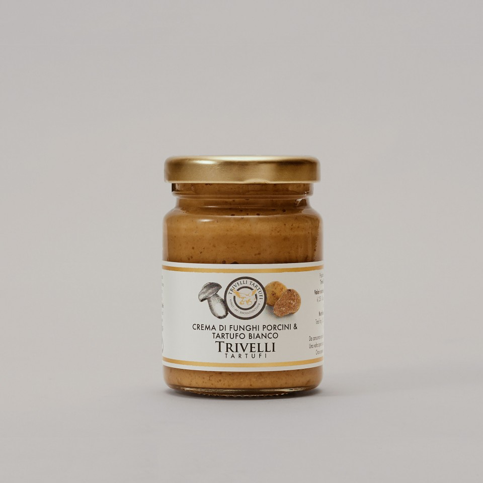 Crema di Funghi Porcini e Tartufo Bianco 5%