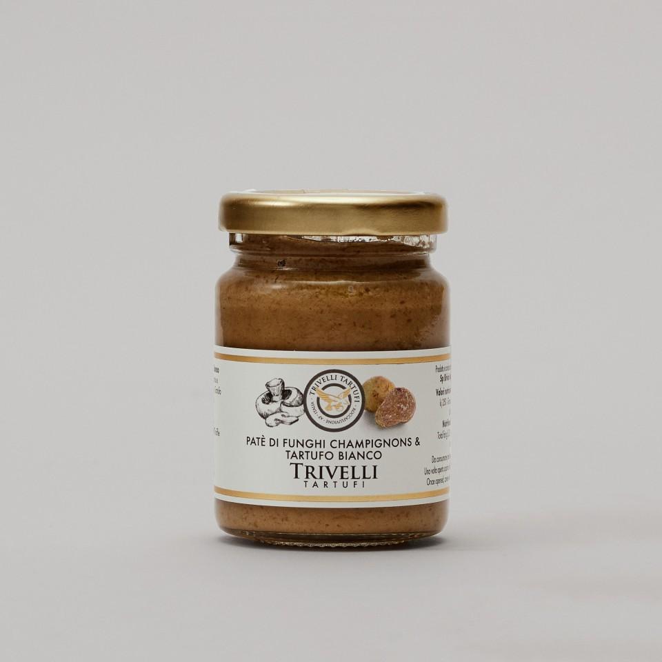 Patè di Funghi Champignons e Tartufo Bianco 5%