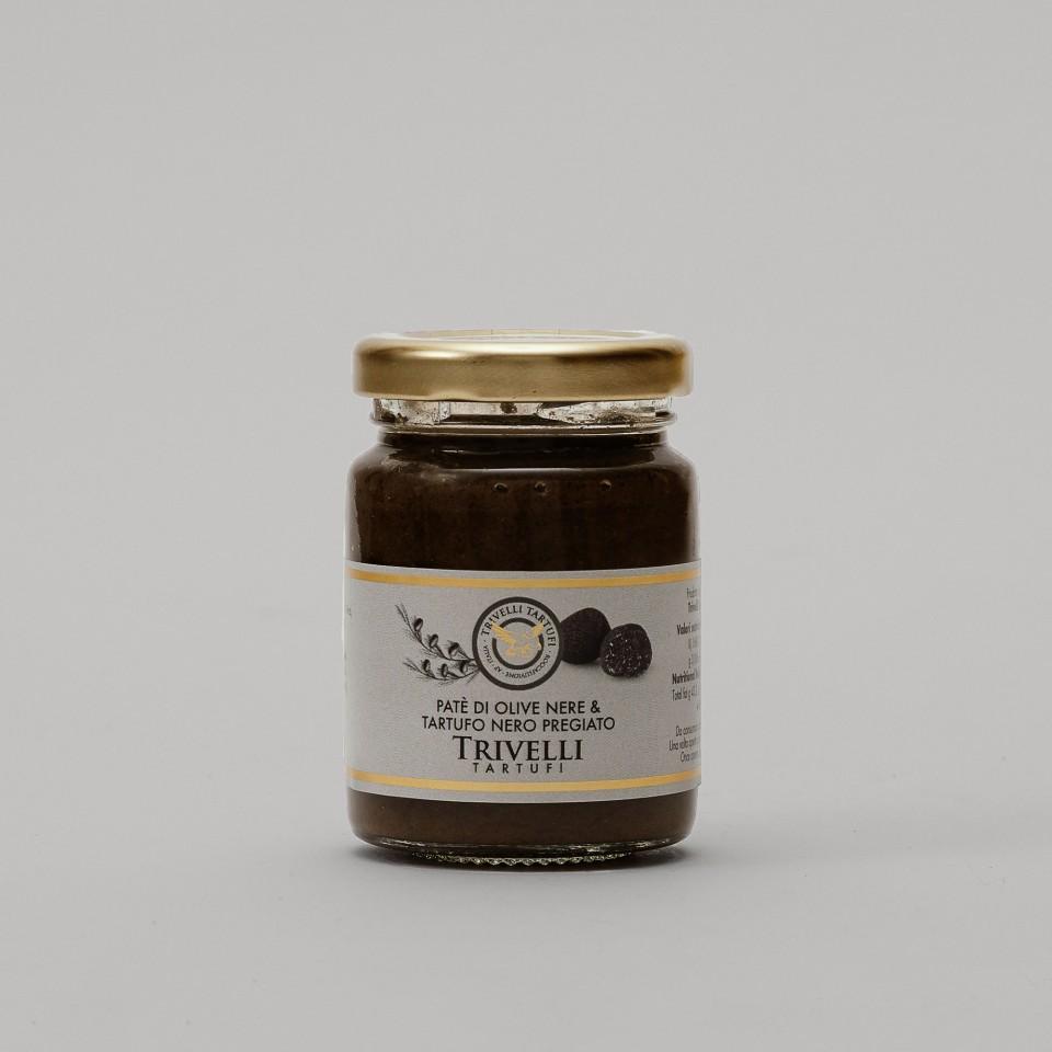 Patè di Olive Nere e Tartufo Nero Pregiato