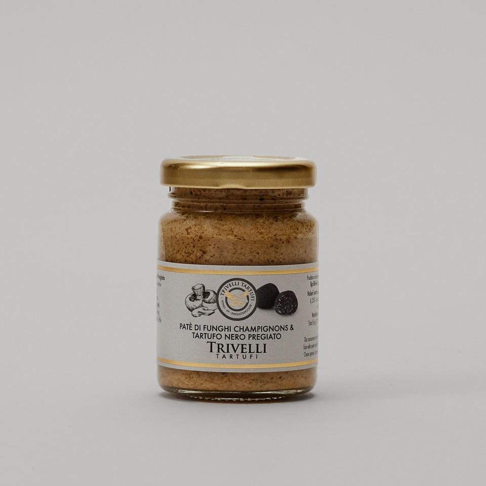 Patè di Funghi Champignons e Tartufo Nero Pregiato