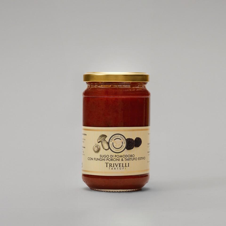 Sugo di Pomodoro, Funghi Porcini e Tartufo Estivo